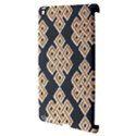 Geometric Cut Velvet Drapery Upholstery Fabric Apple iPad 3/4 Hardshell Case (Compatible with Smart Cover) View3