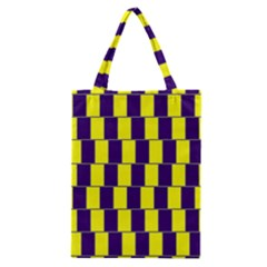 Preview Wallpaper Optical Illusion Stripes Lines Rectangle Classic Tote Bag by Jojostore