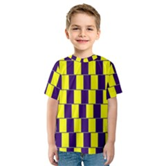 Preview Wallpaper Optical Illusion Stripes Lines Rectangle Kids  Sport Mesh Tee