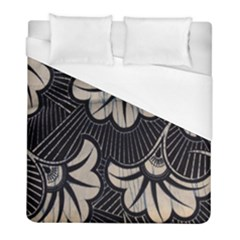 Printed Fan Fabric Duvet Cover (full/ Double Size) by Jojostore