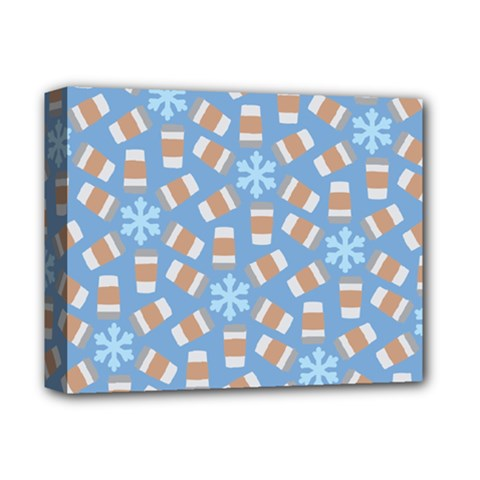Snow Pillow Deluxe Canvas 14  X 11