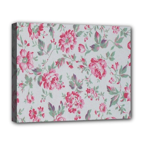 Rose Red Flower Deluxe Canvas 20  X 16   by Jojostore