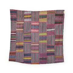 Strip Woven Cloth Color Square Tapestry (small) by Jojostore