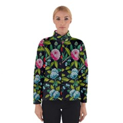 Tropical And Tropical Leaves Bird Winterwear