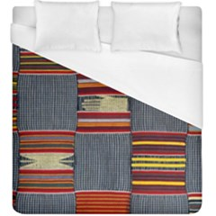 Strip Woven Cloth Duvet Cover (king Size) by Jojostore
