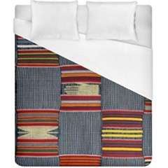 Strip Woven Cloth Duvet Cover (california King Size) by Jojostore