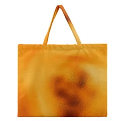 Blurred Glass Effect Zipper Large Tote Bag by Amaryn4rt
