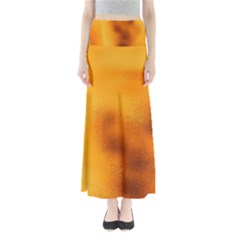Blurred Glass Effect Maxi Skirts
