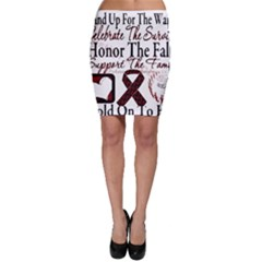 Sickle Cell Is Me Bodycon Skirt by shawnstestimony