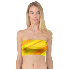 Orange Yellow Background Bandeau Top