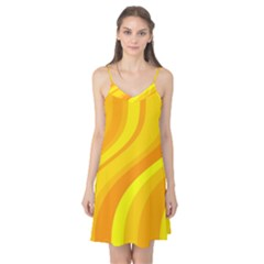Orange Yellow Background Camis Nightgown