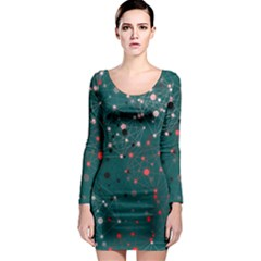 Pattern Seekers The Good The Bad And The Ugly Long Sleeve Bodycon Dress