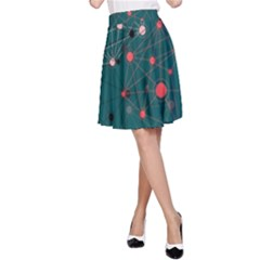 Pattern Seekers The Good The Bad And The Ugly A Line Skirt by Amaryn4rt