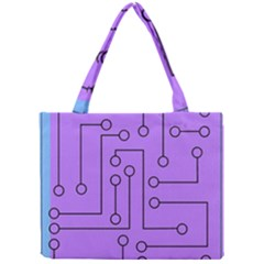 Peripherals Mini Tote Bag by Amaryn4rt