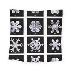 Snowflakes Exemplifies Emergence In A Physical System Square Tapestry (small)