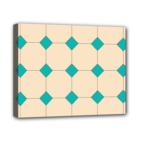 Tile Pattern Wallpaper Background Canvas 10  X 8