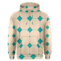 Tile Pattern Wallpaper Background Men s Pullover Hoodie by Amaryn4rt