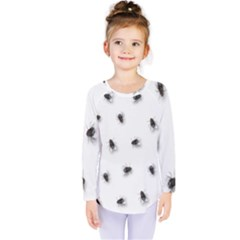 Flies Kids  Long Sleeve Tee