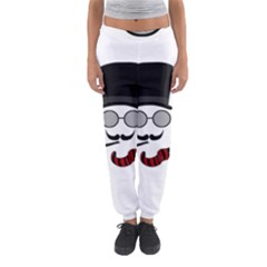 Invisible Man Women s Jogger Sweatpants by Valentinaart