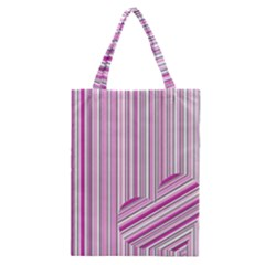Pink Love Pattern Classic Tote Bag by Valentinaart