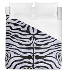 Skin2 Black Marble & White Marble (r) Duvet Cover (queen Size) by trendistuff