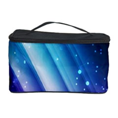 Space Purple Blue Cosmetic Storage Case