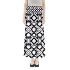 Star Flower Maxi Skirts by AnjaniArt