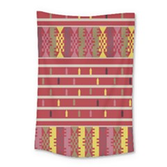 Woven Fabric Pink Small Tapestry
