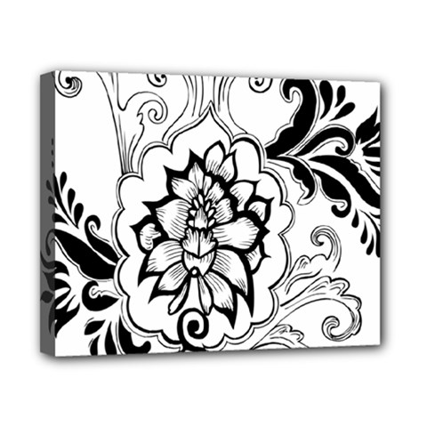 Free Floral Decorative Canvas 10  X 8  by AnjaniArt