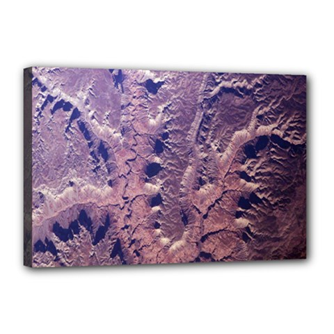 Grand Canyon Space Canvas 18  X 12