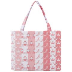 Modelos Toppers Princesa Handcrafted Studio Train King Pink Mini Tote Bag