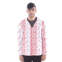 Modelos Toppers Princesa Handcrafted Studio Train King Pink Hooded Wind Breaker (men) by AnjaniArt