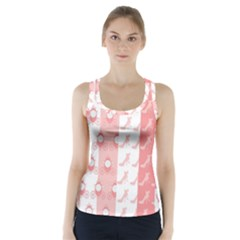 Modelos Toppers Princesa Handcrafted Studio Train King Pink Racer Back Sports Top