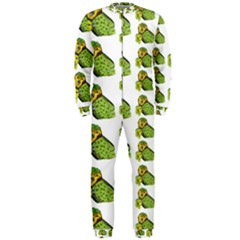 Parrot Bird Green Animals Onepiece Jumpsuit (men)