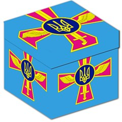 Ensign Of The Ukrainian Air Force Storage Stool 12   by abbeyz71