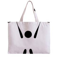 Air Sports Pictogram Zipper Mini Tote Bag by abbeyz71