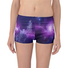 Galaxy Space Purple Reversible Bikini Bottoms