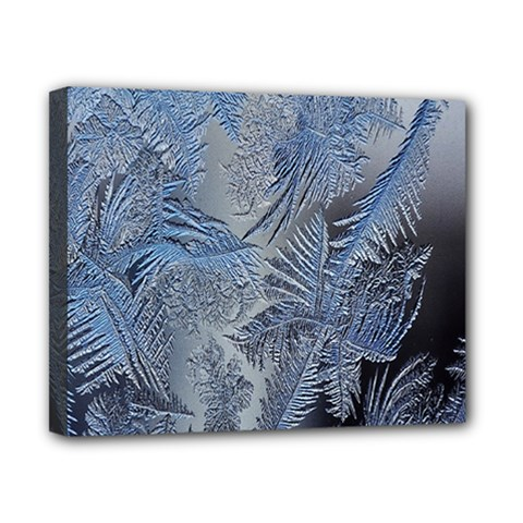 Frost Leafe Canvas 10  X 8