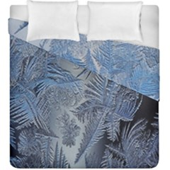 Frost Leafe Duvet Cover Double Side (king Size)