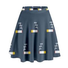 Cigarette Grey High Waist Skirt by AnjaniArt
