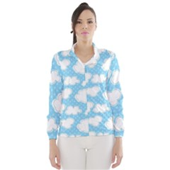 Cloud Blue Sky Wind Breaker (women)