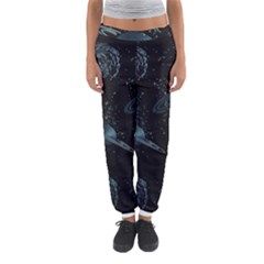 Decoboom Engraved Pickguard Space Saturnus Women s Jogger Sweatpants by AnjaniArt