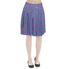 Clipart Floral Pattern Flower Purple Green Pleated Skirt