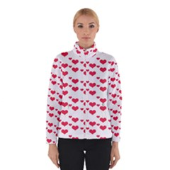 Heart Love Pink Valentine Day Winterwear by AnjaniArt