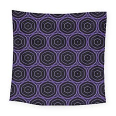 Background Colour Purple Circle Square Tapestry (large) by AnjaniArt
