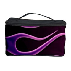 Bright Purple Flag Cosmetic Storage Case by AnjaniArt