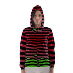 Face Palm Think Hooded Wind Breaker (women)