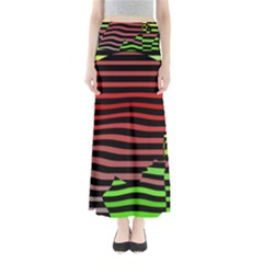 Face Palm Think Maxi Skirts