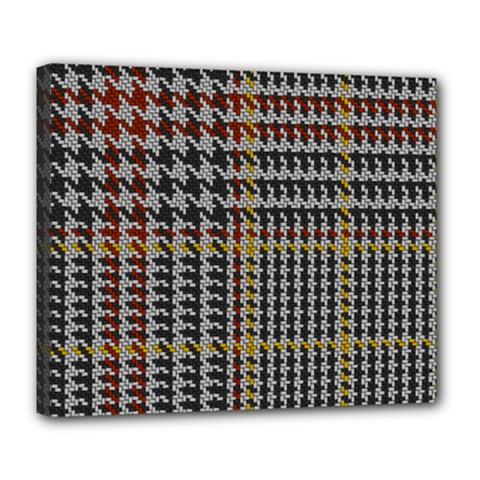 Glen Woven Fabric Deluxe Canvas 24  X 20