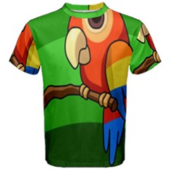Parrots Pinterest Men s Cotton Tee